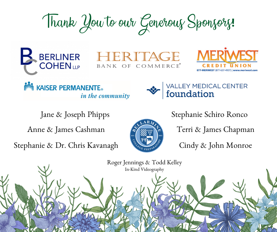 Copy of Thank You to our Generous Sponsors!